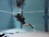 Kontrollierter schwimmender Notaufstieg