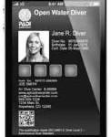 Elektronisches Brevet, elektronischer Tauchschein: PADI eCard