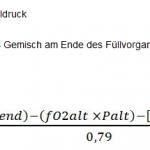 Berechnungsvariante Partialdruckmischung