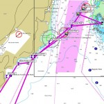 Route der Tauchsafari 2012