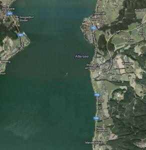 Luftaufnahme Steinbach am Attersee